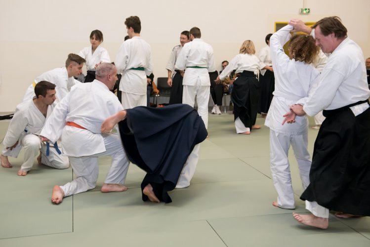 Initiation aikido, École de la Marsange, Dojo de la Houssaye en Brie
